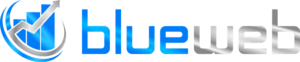 Blueweb AS - logo hvit